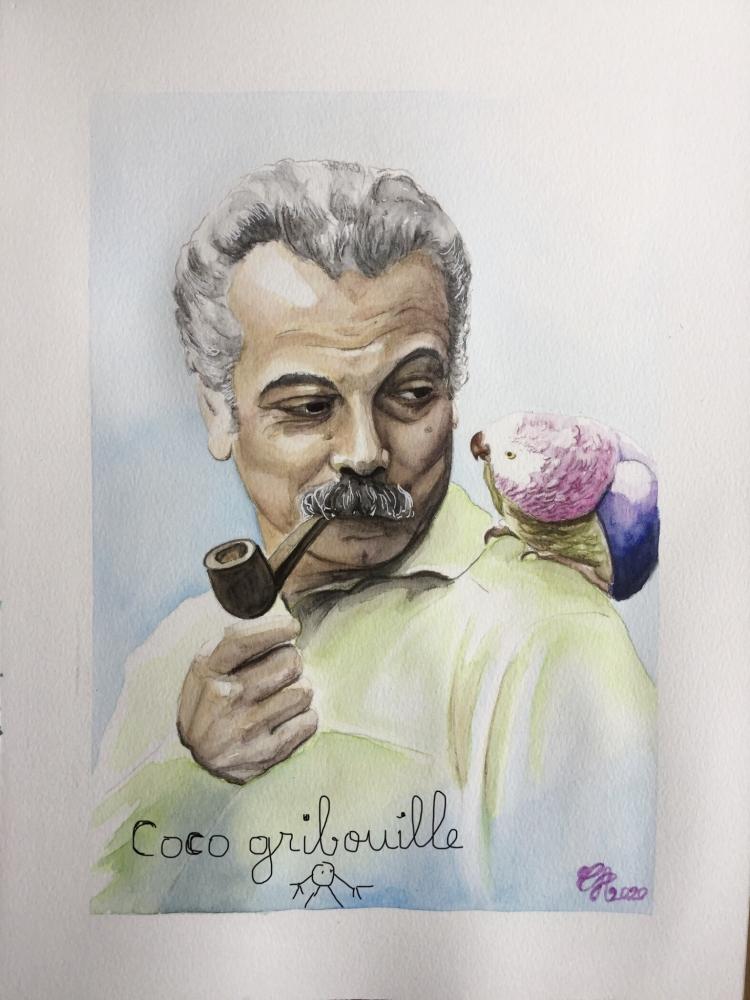 Georges Brassens por Coco66